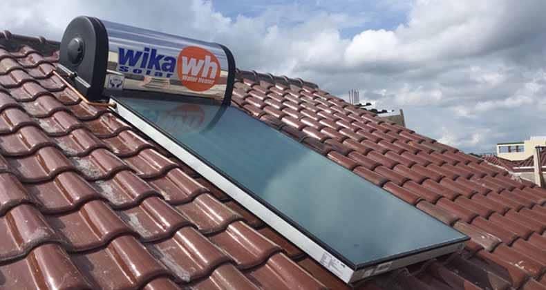 wika solar water heater kelapa gading