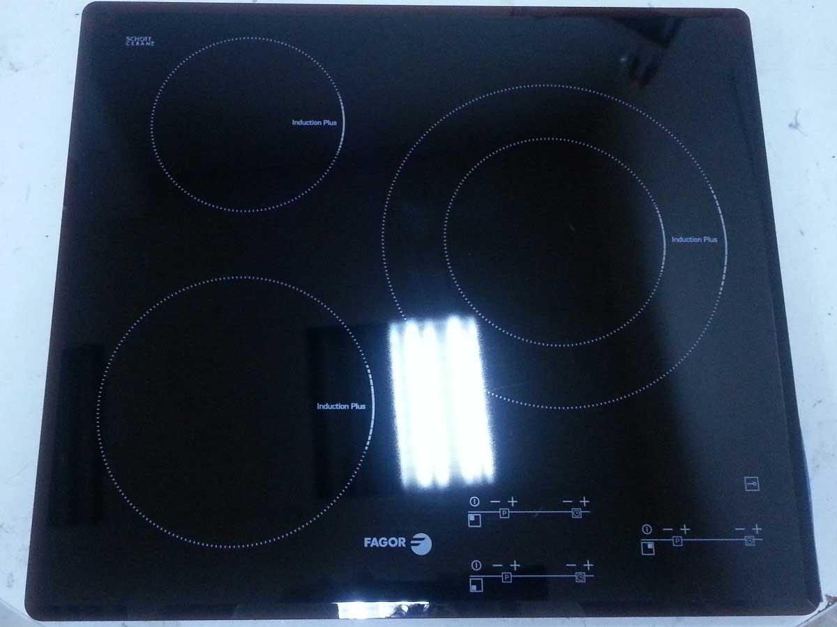 Cristal Placa de Induccin Fagor IF3S LA6GEX1Segundamano