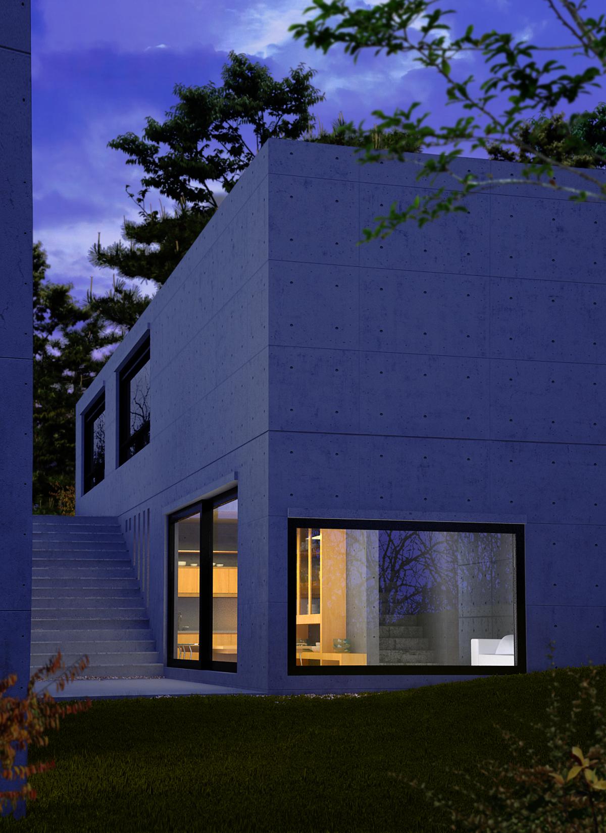 Casa Koshino  Servicios cad y 3d