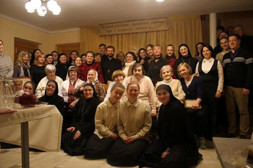 """5° aniversario de fundación de la comunidad """"Santa Verónica"""", en Ternopil"""
