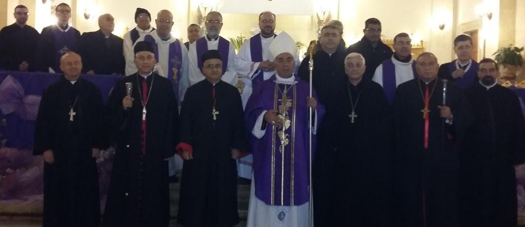 Servidoras - Apertura del año de la misericordia en Alepo