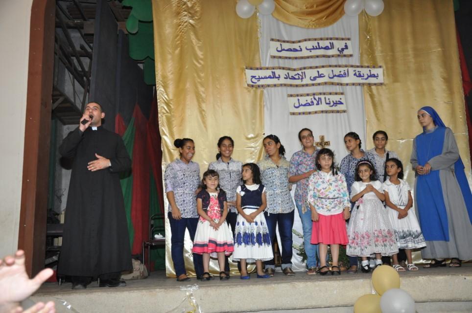 Servidoras - Profesión de los votos perpetuos en Egipto - Fiesta