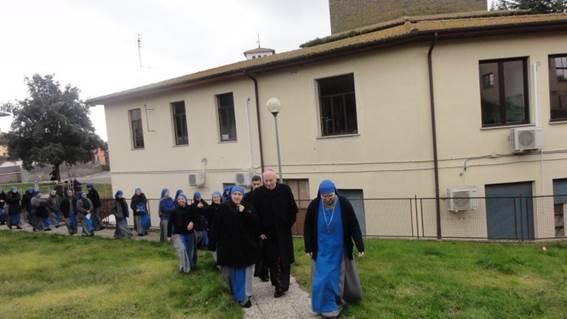 cornelio fabro-celleno-ssvm-apostolato-viterbo-nuova fondazione a celleno-fumagalli-vescovo