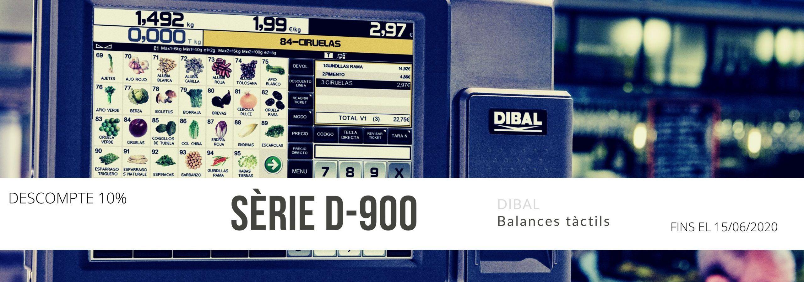 Ofertes en Balances Dibal D-900