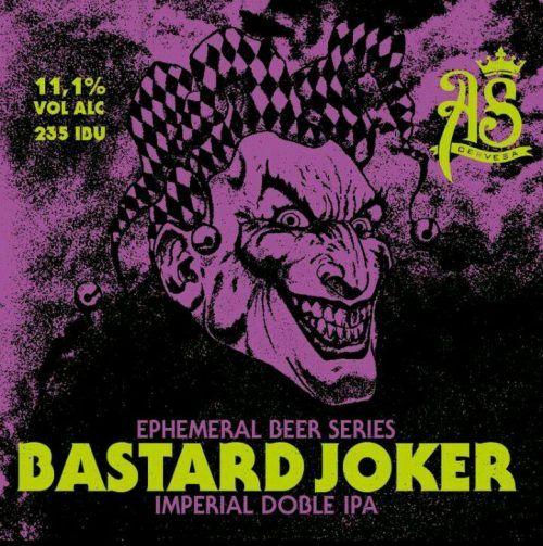 Cervesa Artesana As Bastard Joker - Imperial Doble Ipa