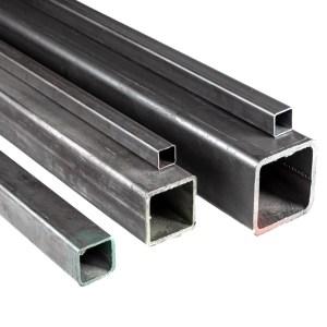 tubo negro estructural, construcción