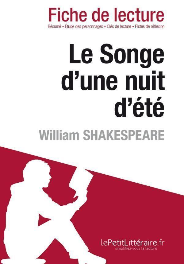 Songe D'une Nuit D'été Résumé : songe, d'une, d'été, résumé, Songe, D'une, D'été, William, Shakespeare, (fiche, Lecture)..., Librairie, Eyrolles