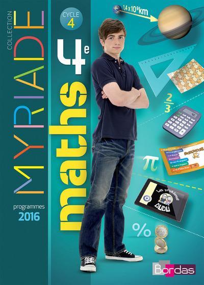 Myriade Maths 3eme 2016 Corrigé : myriade, maths, corrigé, Myriade, Mathématiques, Manuel, élève, Librairie, Eyrolles