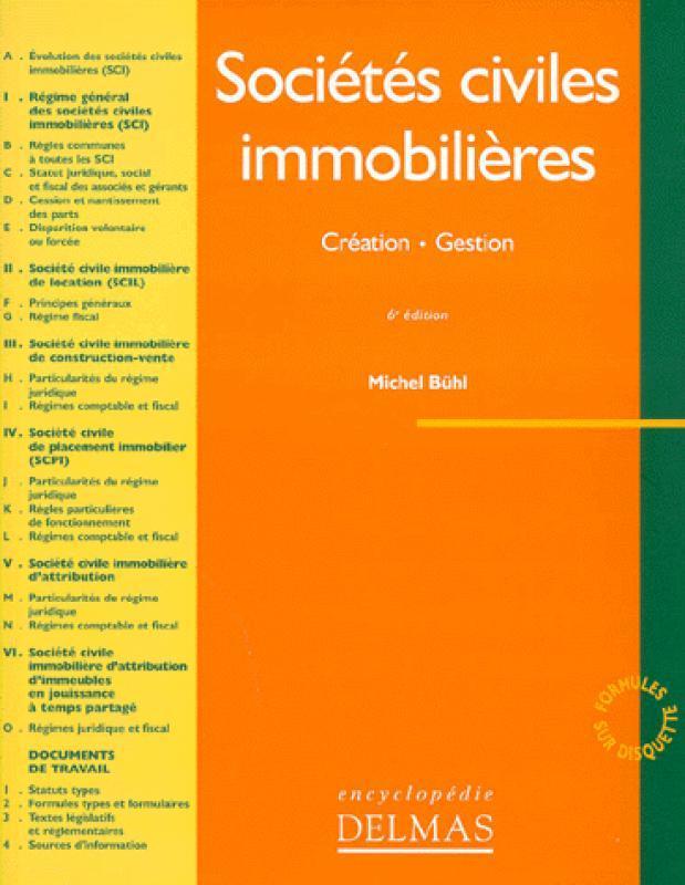 Société Civile De Construction Vente : société, civile, construction, vente, Sociétés, Civiles, Immobilières, Christine, Librairie, Eyrolles
