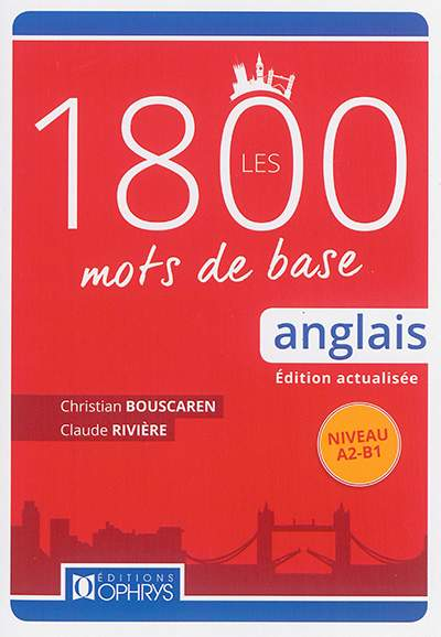 Les Mots Essentiels En Anglais : essentiels, anglais, Anglais, Claude, Rivière, Christian, Bouscaren, Librairie, Eyrolles
