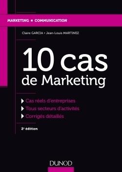 10 Cas De Marketing Pdf : marketing, Marketing, Etudes, D'entreprises, Corrigés..., Librairie, Eyrolles