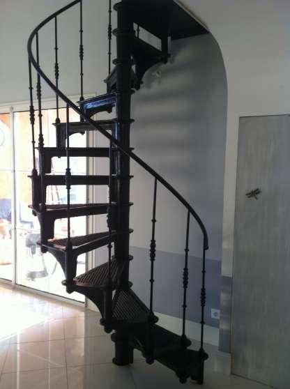 Escalier colimacon en fonte industriel MATRIAUX DE CONSTRUCTION ESCALIERS  ECHELLES  Sainte