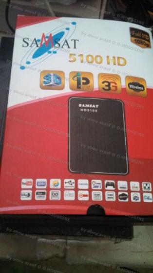 Samsat 5100 HD mini IPTV AUDIO  TL  DVD  CD SATELLITE