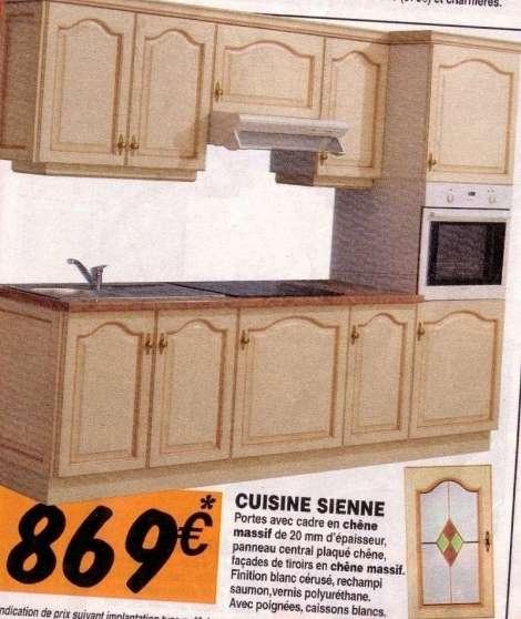 RECHERCHE FACADES CUISINE SIENNE Forbach MEUBLES