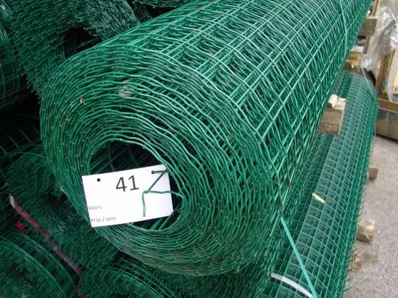 lot grillage galvanise plastifie 250cm