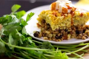 vegan tamale pie with jalapeno cornbread recipe