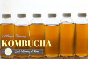 HOW TO BOTTLE, FLAVOR, AND SECOND FERMENT kombucha