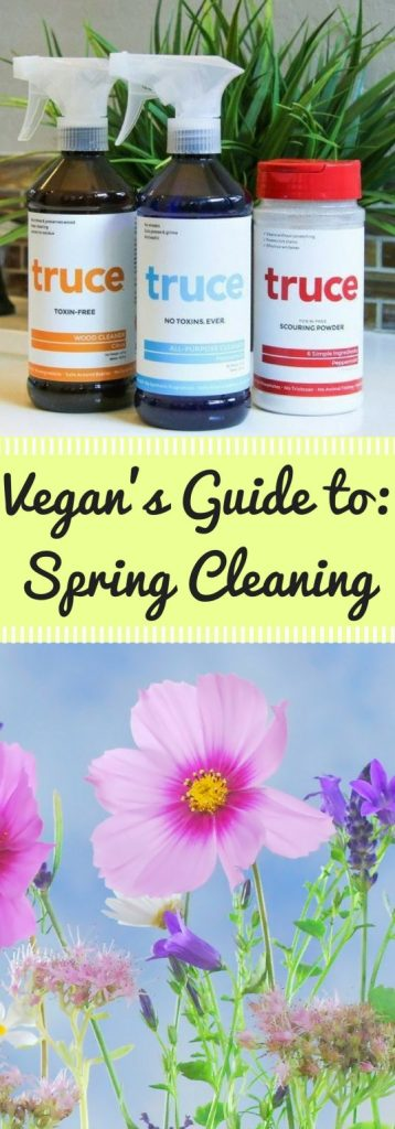 Spring Cleaning can be a daunting task for new vegans. What brands should I use? What products are full of nasty chemicals? Find all about zero-waste, eco-conscious, cruelty-free cleaning in this vegan's guide to cleaning supplies!