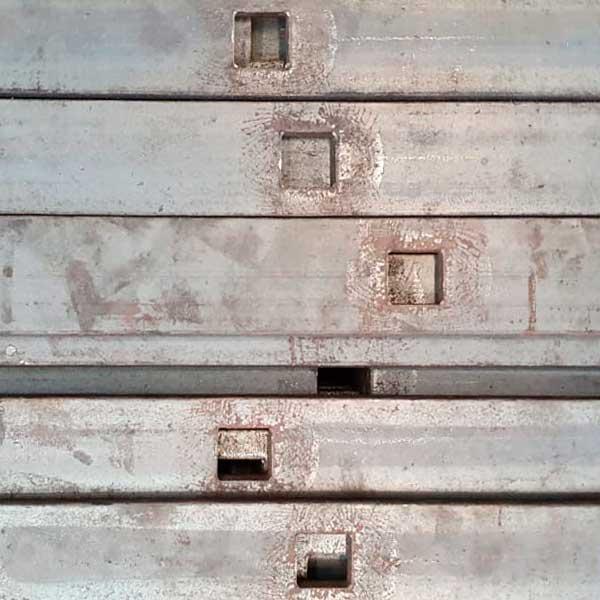Planchuela Perforada - Serviprod