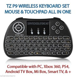 Amazing Smart Remote Control T6 Backlit Air Mouse keyboard