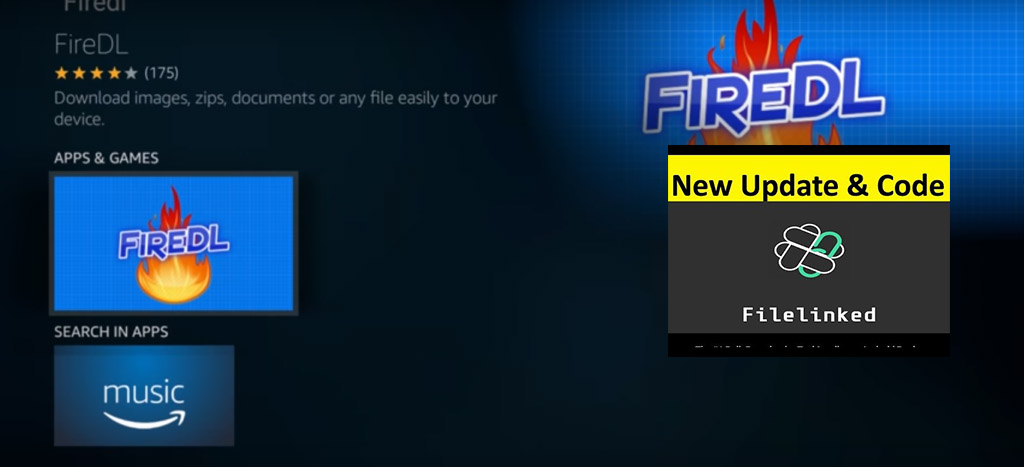 Latest Fire DL Filelinked Codes for Fire TV Box Firestick Android TV