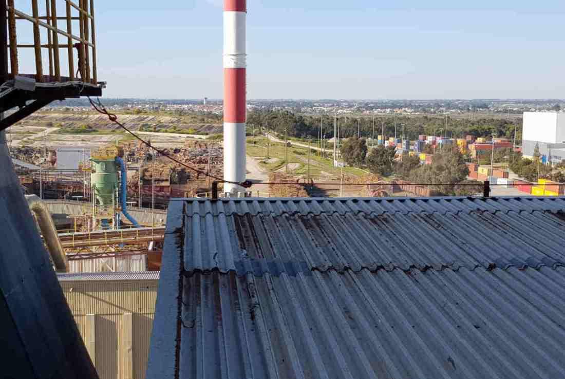 linhas de vida provisórias em telhados