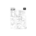 JBL HP 88F User Guide / Operation Manual — View online or