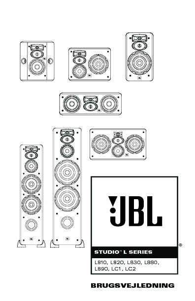 JBL LC2 (SERV.MAN2) User Guide / Operation Manual — View