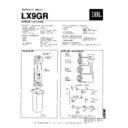 JBL LX 9 Service Manual — View online or Download repair