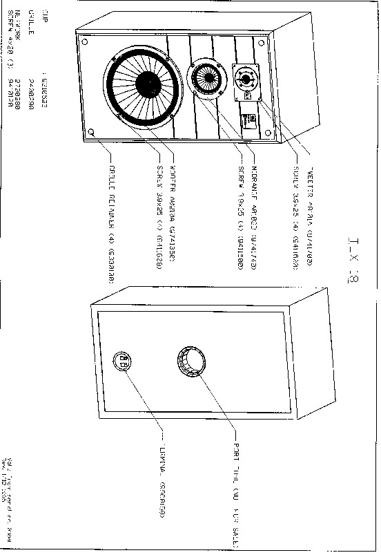 JBL TLX 18 Service Manual — View online or Download repair