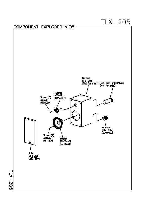 JBL TLX 205 Service Manual — View online or Download