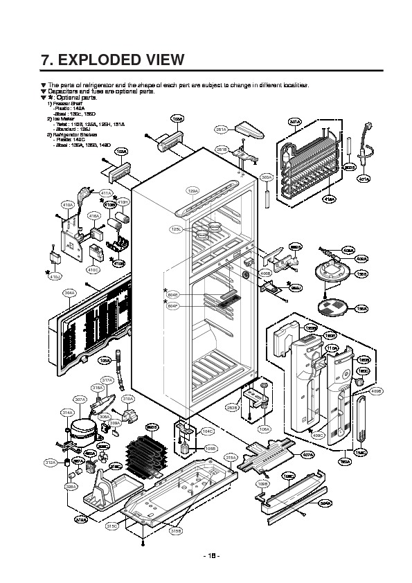 LG GR-T502GV Service Manual — View online or Download