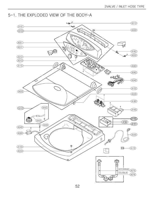 LG WF-T953A Service Manual — View online or Download