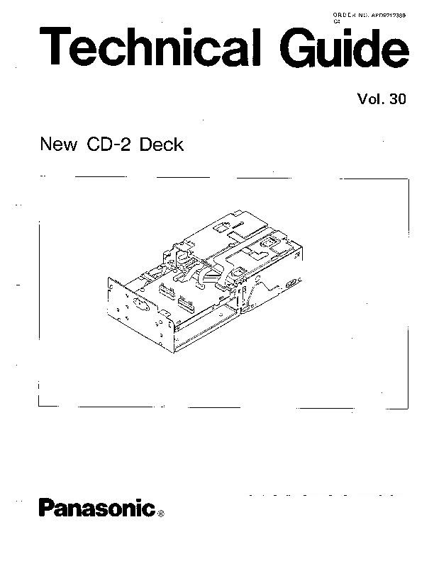 Panasonic CX-DP60 Service Manual — View online or Download