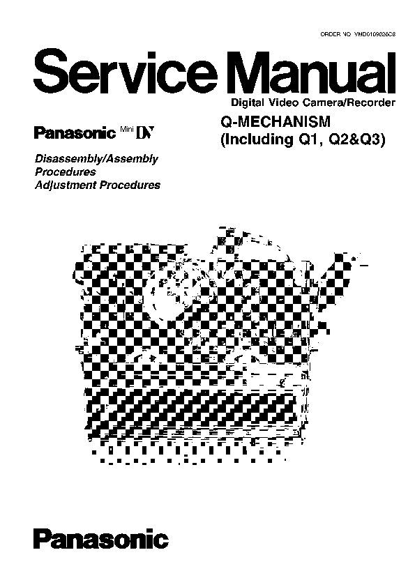 Panasonic Z, MECHANISM Service Manual — View online or