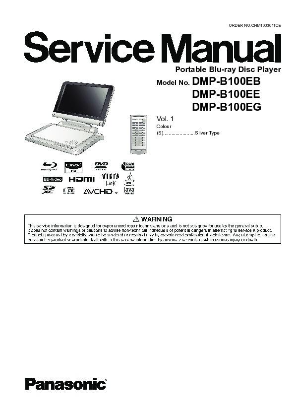 Panasonic DVD Service Manuals and Schematics — repair
