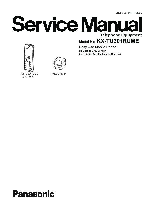 Panasonic GSM Service Manuals and Schematics — repair