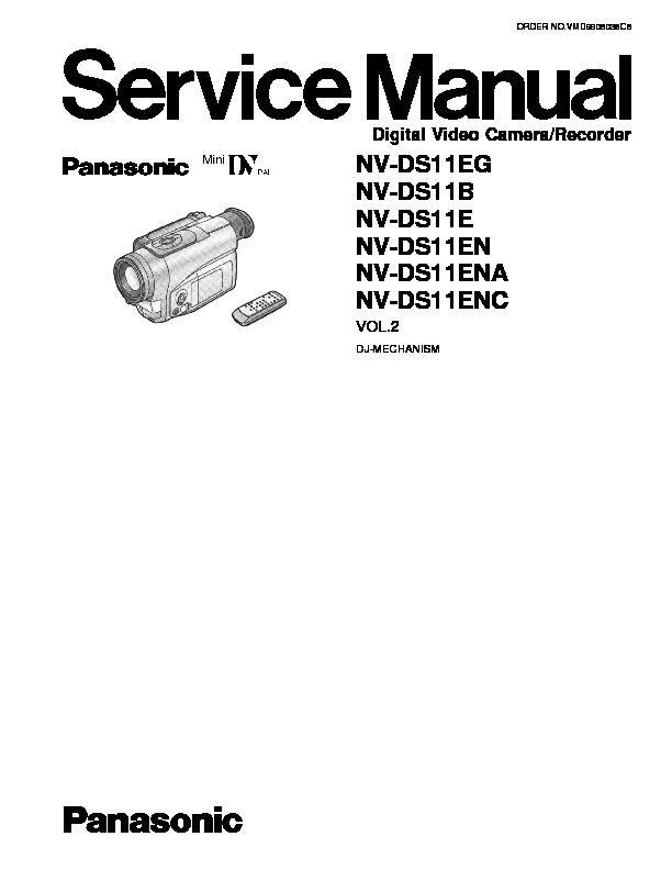 Panasonic NV-DS11EG, NV-DS11B, NV-DS11E, NV-DS11EN, NV