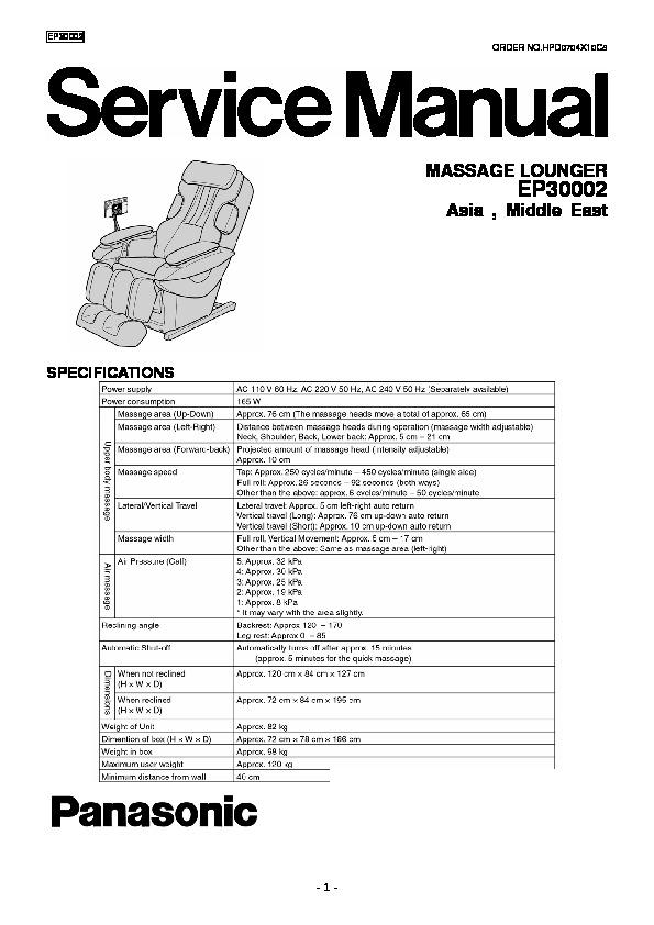 Panasonic Other Service Manuals Service Manuals and