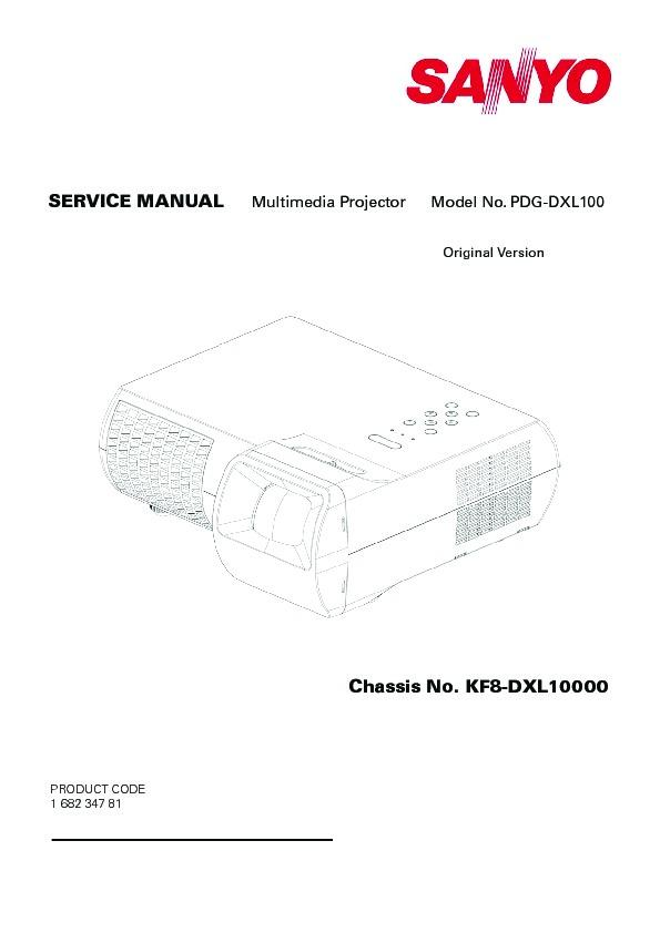 Panasonic Projector Service Manuals and Schematics
