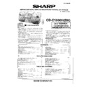 Sharp CD-C1600H Parts Guide — View online or Download