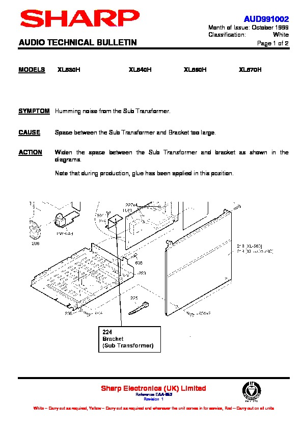 Sharp XL-570E User Guide / Operation Manual — View online