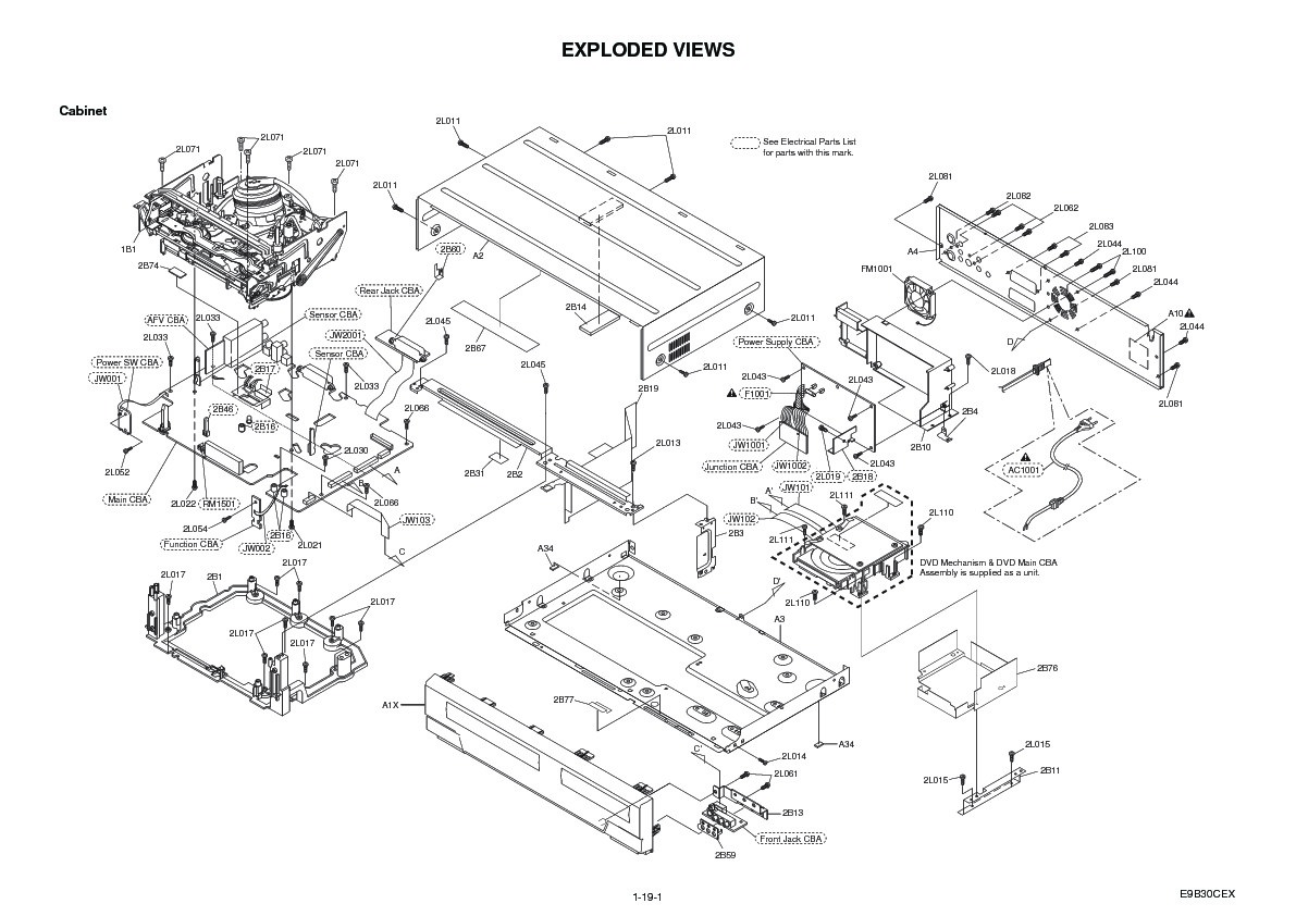 Sharp DV-RW360H Service Manual — View online or Download
