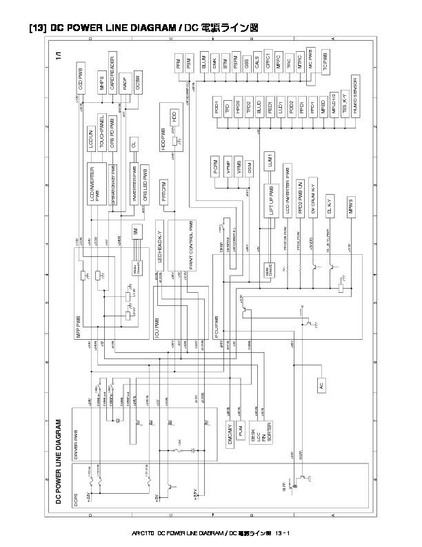 Sharp AR-C170 (SERV.MAN76) Technical Bulletin — View