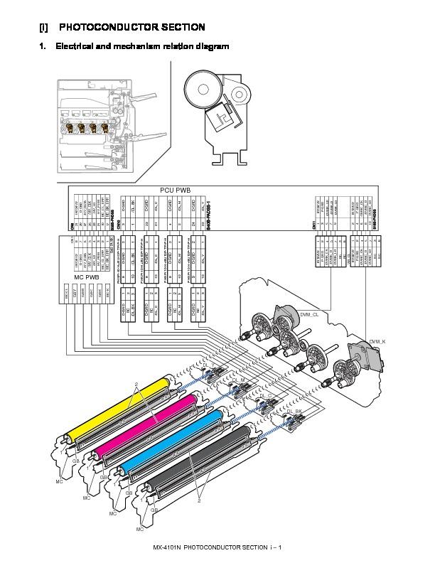 Sharp MX-4100N, MX-4101N, MX-5000N, MX-5001N (SERV.MAN14