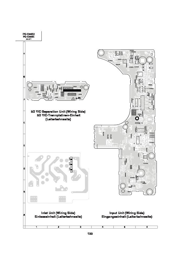 Sharp PG-C20XE (SERV.MAN19) Service Manual — View online