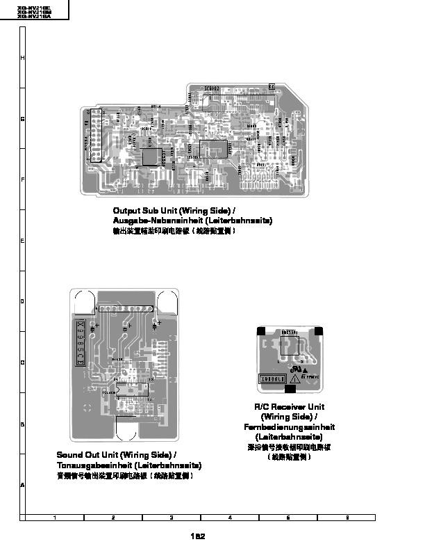 Sharp XG-NV21SE (SERV.MAN8) Service Manual — View online