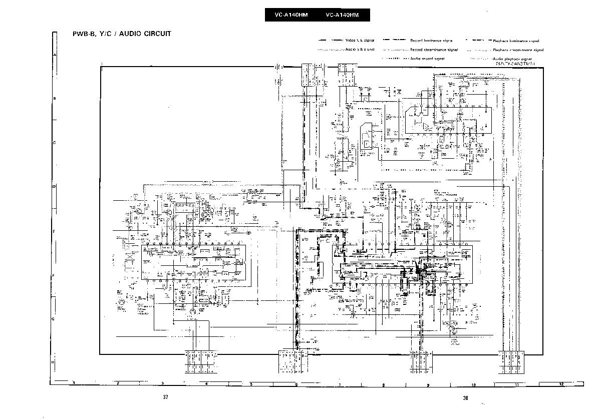 Sharp VC-A140HM (SERV.MAN4) Service Manual — View online