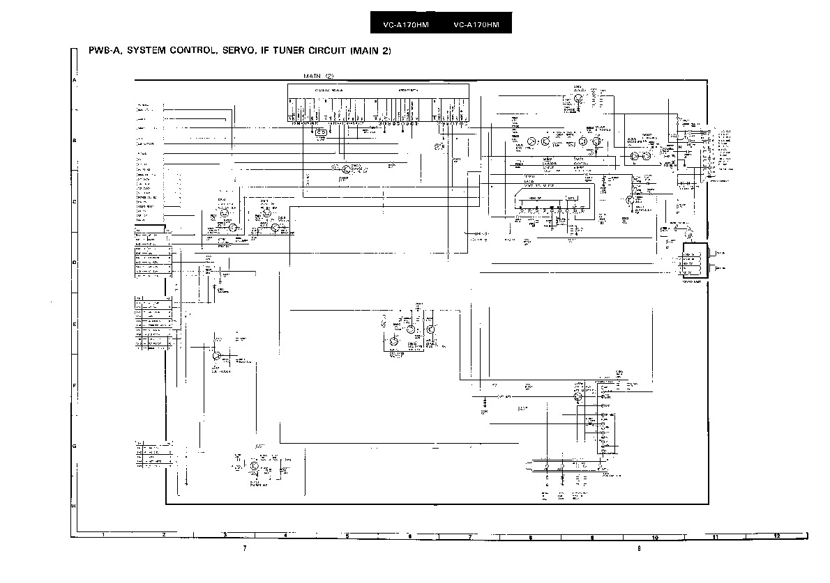 Sharp VC-A170 (SERV.MAN6) Parts Guide — View online or