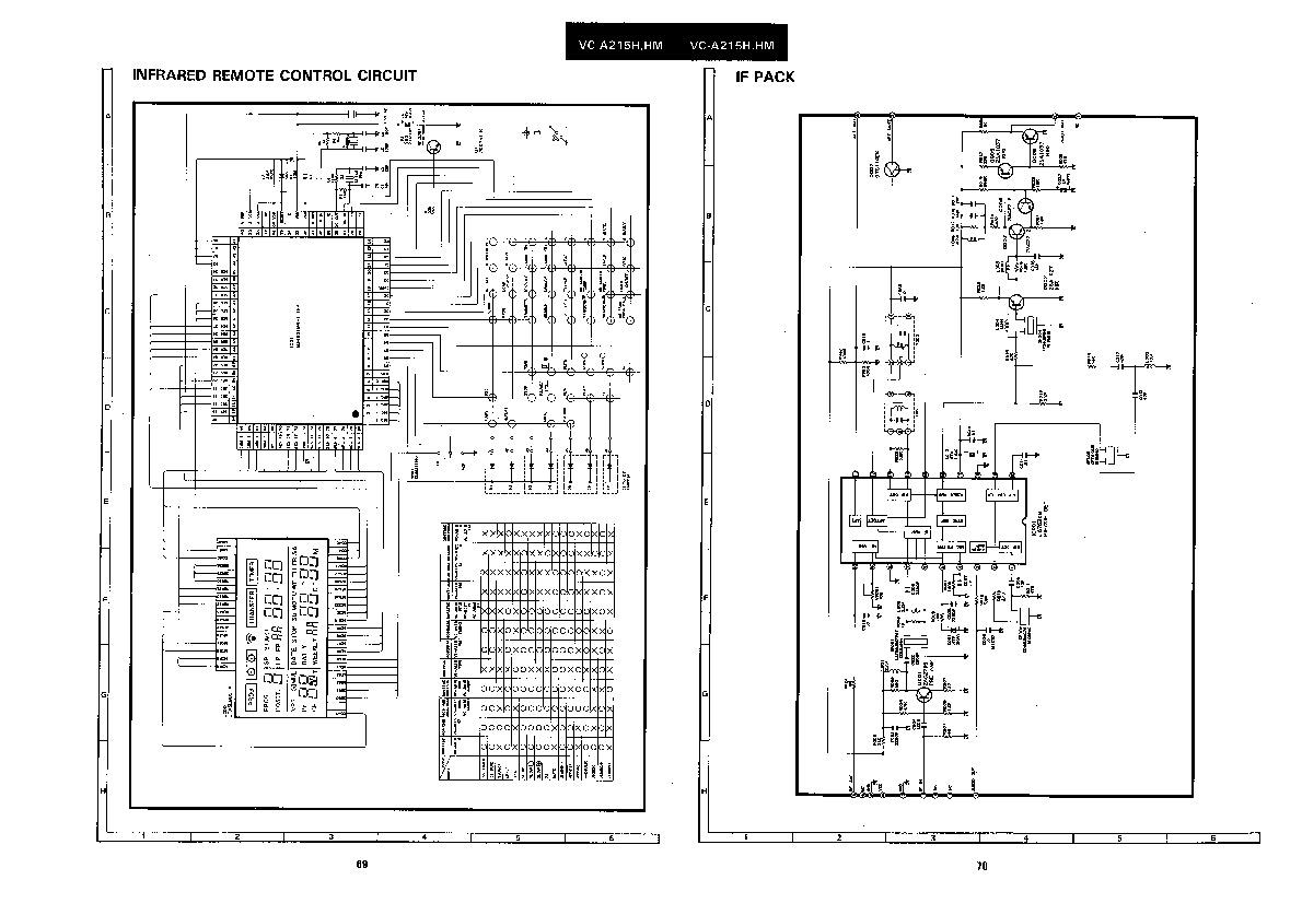 Sharp VC-A215HM (SERV.MAN2) Service Manual — View online